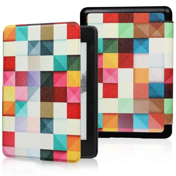 Kindle Paperwhite Art Case Cover Cube Colour